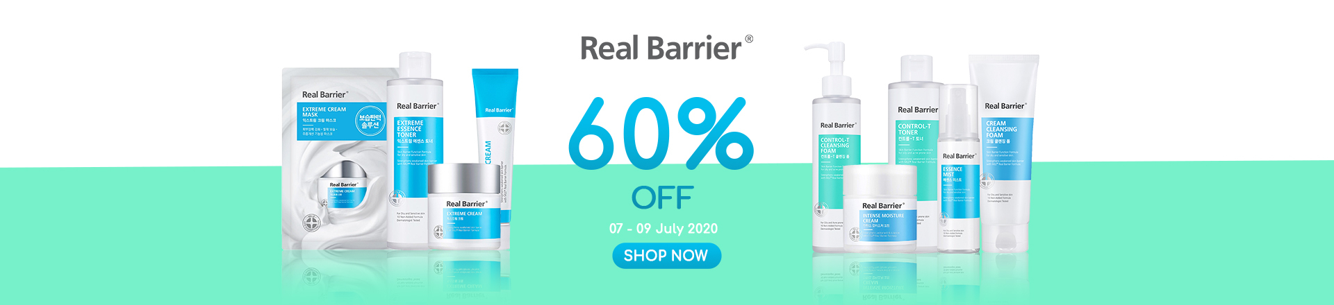REAL BARRIER 60% OFF