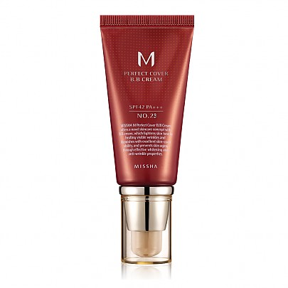 [Missha] M Perfect Covering BB Cream SPF42 PA+++ , No.23 Natural Beige (Blemish coverage and Power Long Lasting) 50ml