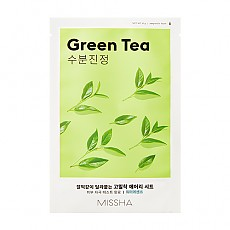[Missha] Airy Fit Sheet Mask (Green Tea)