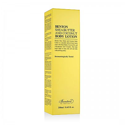 [Benton] Shea Butter And Coconut Body lotion 250ml
